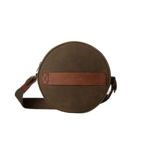 Pendleton Leather Canteen Purse in Brown
